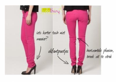De lengte van je broek heeft een groot effect op je uitstraling