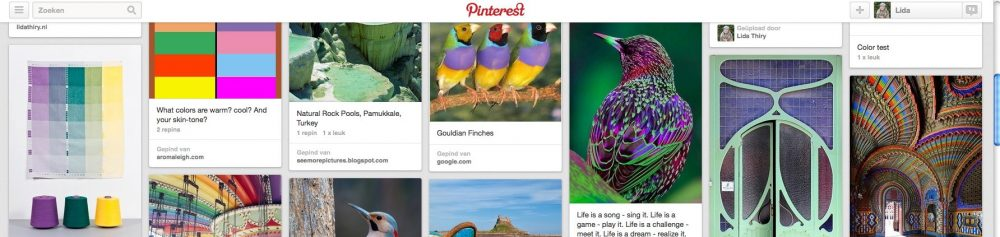 Een moodboard maken op Pinterest is niet moeilijk