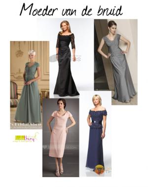 Halslijnen voor kleine borsten – jurken