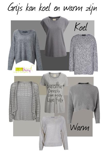 Je hebt koel grijs en warm grijs – zie hier het verschil