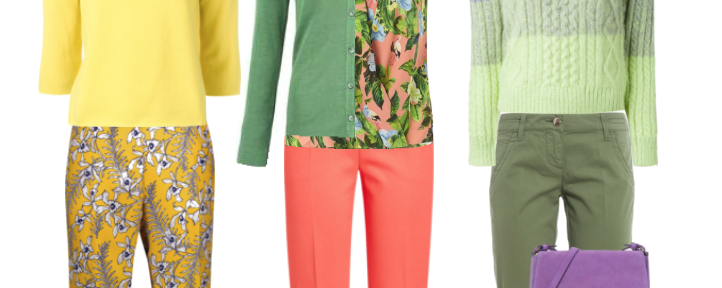 De contrastniveau's in je outfit – hoog kleurcontrast