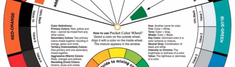 Het Color Wheel is een handig hulpmiddel