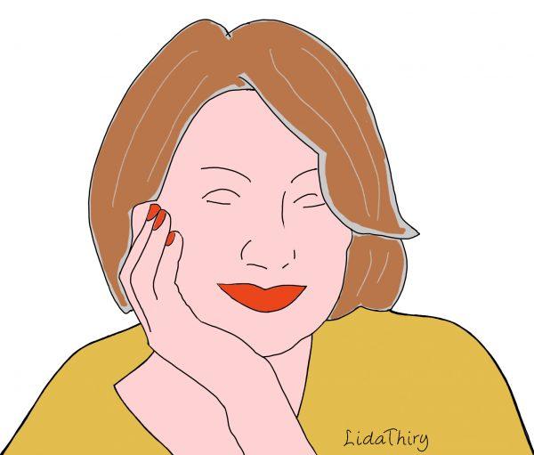 Vrouwen met rood haar worden zelden mooi grijs