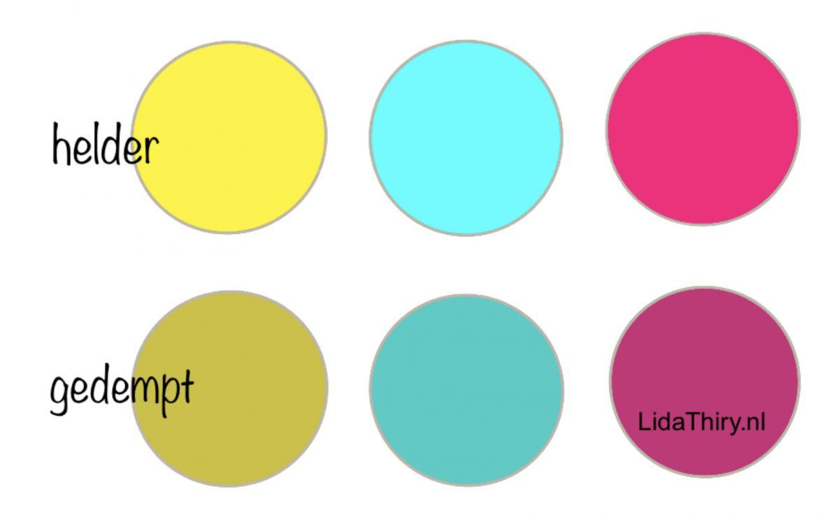Je kleurtype ontdekken in vier stappen – helder of gedempt (1)