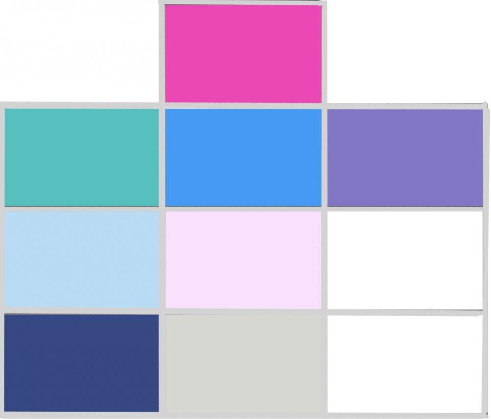 Beperk je eens tot tien kleuren in je kast- garderobemanagement