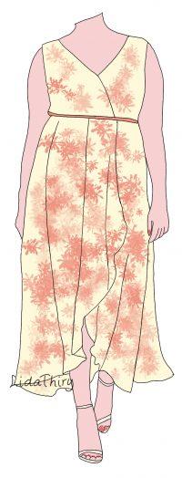 Een lange jurk kan iedere vrouw dragen