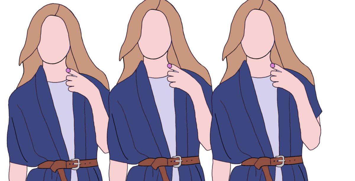 Een diepe V-hals en een lang gezicht - hoe ga je daarmee om?